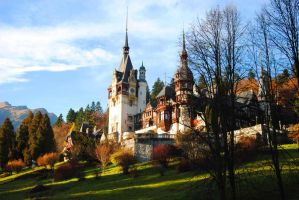 Peles Castle by souldandhappiness