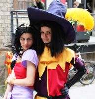 Esmeralda and Clopin cosplay by rsmursu