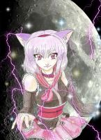 cat girl 2 by Claw333Ayane