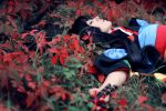Dream in red leaves... by Alexia-coswave