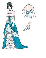 Avery's Opening Ball Costume Design by shaolinfan1