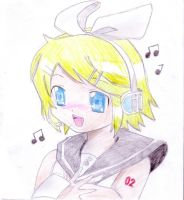 Vocaloid Rin by Unibunny