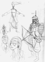 sketches 1 by mcnostril