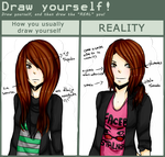 Meme Draw Yourself by MidoriKuro-chan10