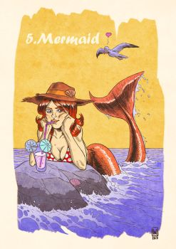 5 - Mermaid by W-Orks