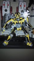tf4 bumblebee papercraft complete by Lilscotty