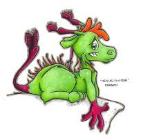 Venus Fly Trap Dragon by kazzycaboodles