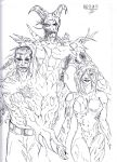 3 Final Bosses by XconceptartX