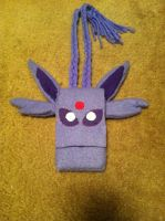 Espeon cell phone carrier by SirAlex0014