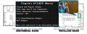 VancouFur 2015 Commissions by Temrin