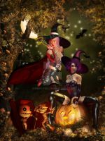 Sugar and Spice of Halloween nice by Fiery-Fire