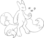 Physicmon inking by Electric-Claw
