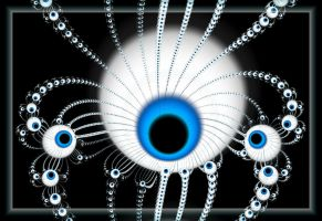 More More Eyes by fractalyzerall