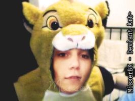 Andy as Simba~ by MisserBK