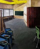 Art Room Collage by cyreneq