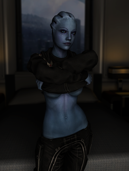 Give them back Liara! by neehs