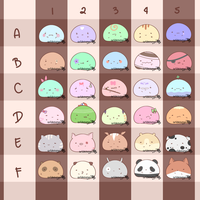 [OPEN 40/60] Cheap Mochi Adopts by aridesunya