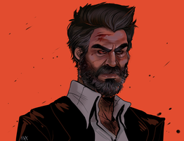 Logan colored by Mo0gs