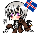 Chibi Iceland what do you want by Miryam123