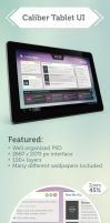 Clean Tablet UI by Cheezen