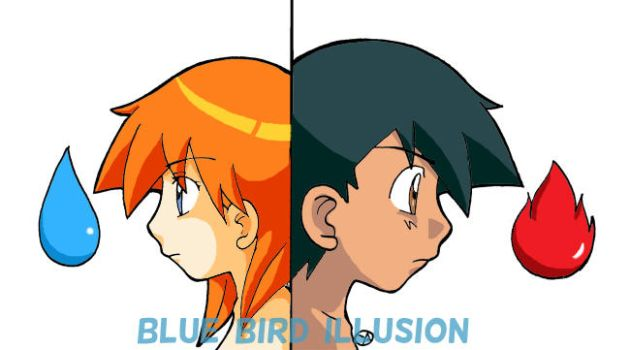 Pokemon Blue Bird Illusion 3 by Ya-chan85