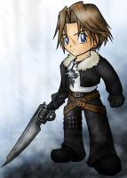 Chibi Squall by ilovestrawberries