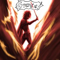 Kratos Aurion Grave Spell by Olympia-Aurion