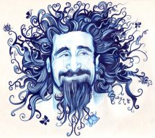 Serj Tankian by tavington