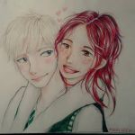 Rose and scorpius by Deviangelo