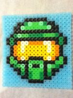 -Perler- Halo Master Chief by OtakuLuka