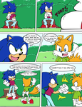 Sonic Survivor Island - Pg.31: Sibling Rivalry by SDCharm