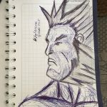 Wolverine sketch  by HappyArequipe