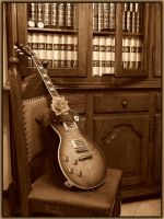 Gibson Les Paul by tuxology