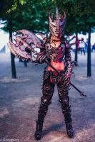 Oblivion Daedric Armour by Giulietta Zawadzki by Beaupeep101