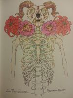 The Flowers of the Horned Bobcat Man by Creation-Gallery