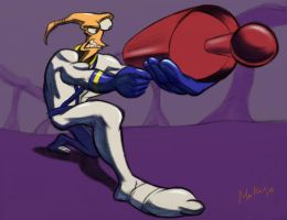 Almighty Earthworm Jim by Mokuu