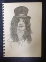 Slash - guns n roses by MeetTheMonster