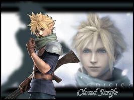 FFVII:CC - Cloud Wallpaper by Orga-Kuttie-Tarka