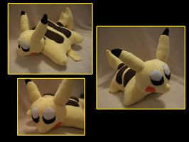 Pikachu Pillow Pet by VanguardWingal