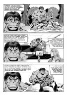 Hulk vs Deaths Head page 2 by Simon-Williams-Art