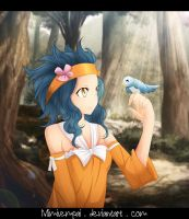 Fairy Tail : Levy _ Fly way by MimiSempai