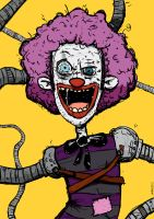 Evil-O the Clown by striffle