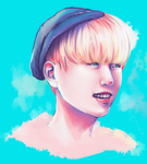 Sandeul of B1A4 by krissasaur