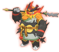 somewhat badass emboar i guess... by marshtompkd