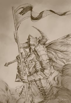 Dragon Knight by DHTenshi