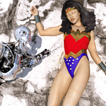Wonder woman Peril by orionsforge