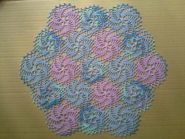 Pinwheel Doily by koepr5333