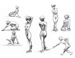 Life Drawing 03 by andrewk