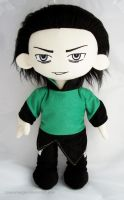Loki plush - incomplete by PlanetPlush