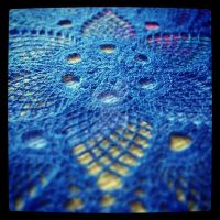 Doily Hat - nearly done by musical-box